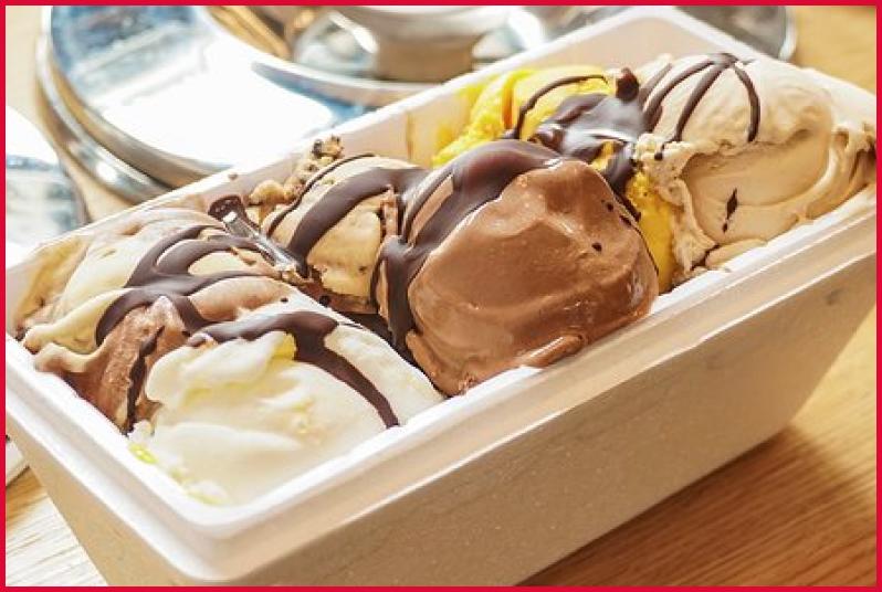 Înghețată în Caserole La Pachet