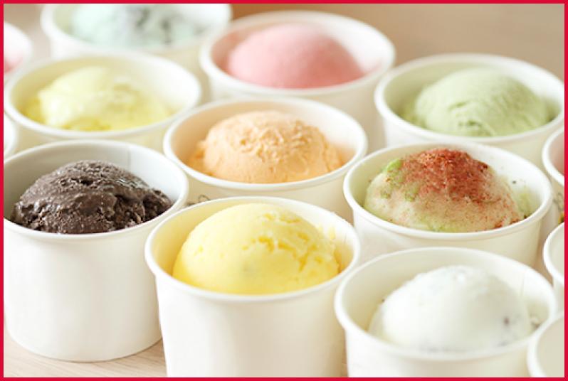 Înghețată în Cupe